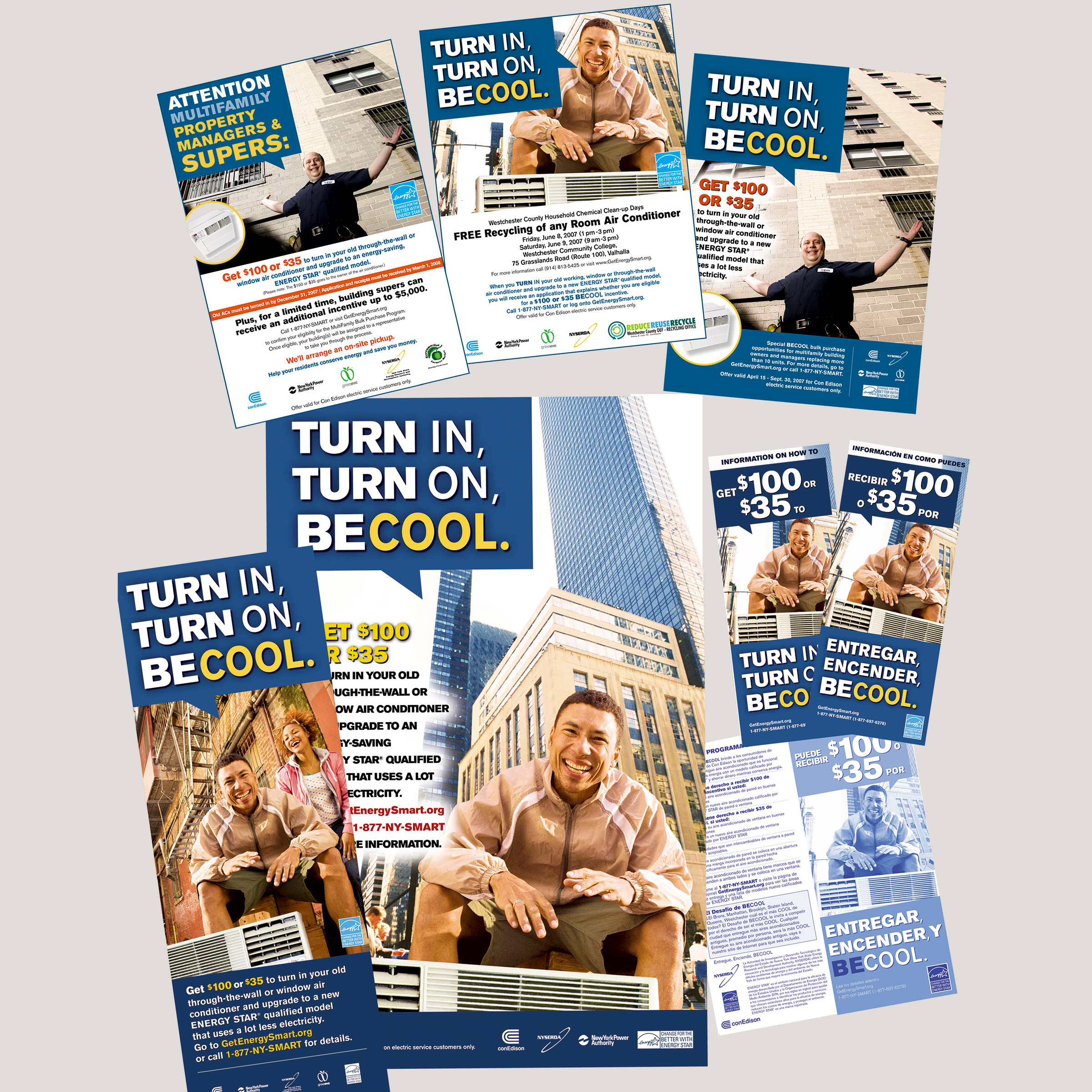 NYSERDA - Be Cool print campaign - portfolio image